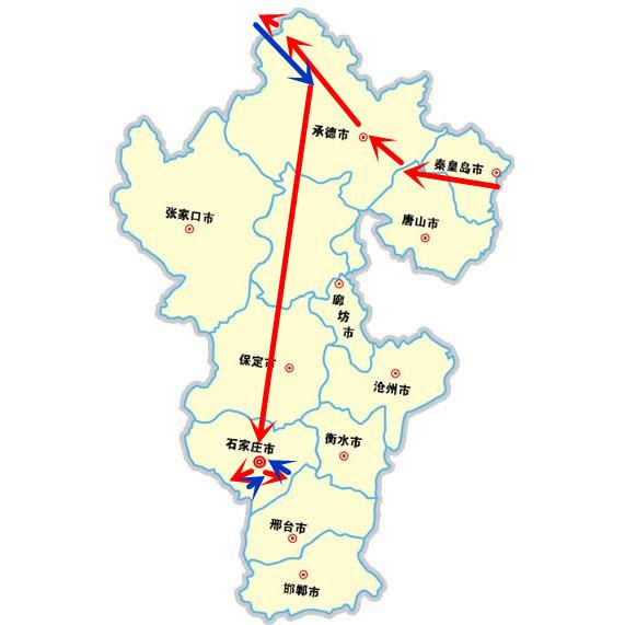 引子 秦皇岛 (2017.10.1;2017.10.2) 唐山 (2017.10.2) 承德 (2017.
