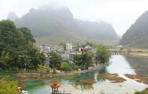 【靖西图片】一幅山水画----靖西鹅泉