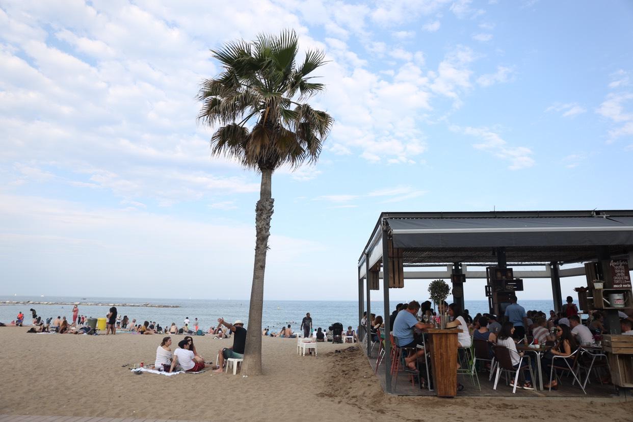 巴塞罗那天堂海滩,旅游攻略 - 马蜂窝