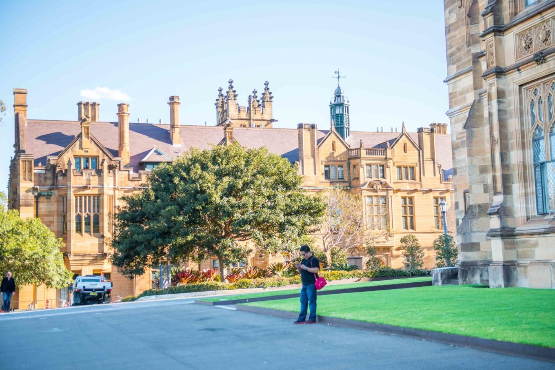 悉尼大学校园风景