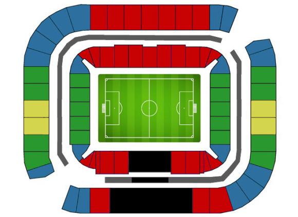 2018俄罗斯世界杯门票 a4vsa2世界杯小组赛球票预订 罗斯托夫