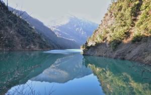 【汶川图片】静谧的拉姆湖