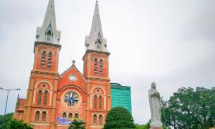 胡志明机票_胡志明市西贡圣母圣殿主教座堂攻略,西贡圣母圣殿主教座堂门票 ...