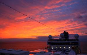 【加勒比海图片】碧水,蓝天,白沙,巨轮,美女——东加勒比海邮轮10日摄游记