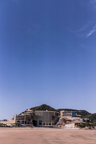 在东海半边山风景区度假,提前享受美丽的东海之滨.