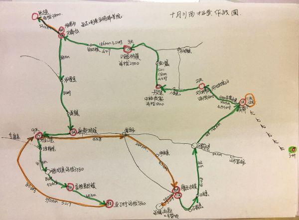 结伴■■川西大环线■■十月自驾游