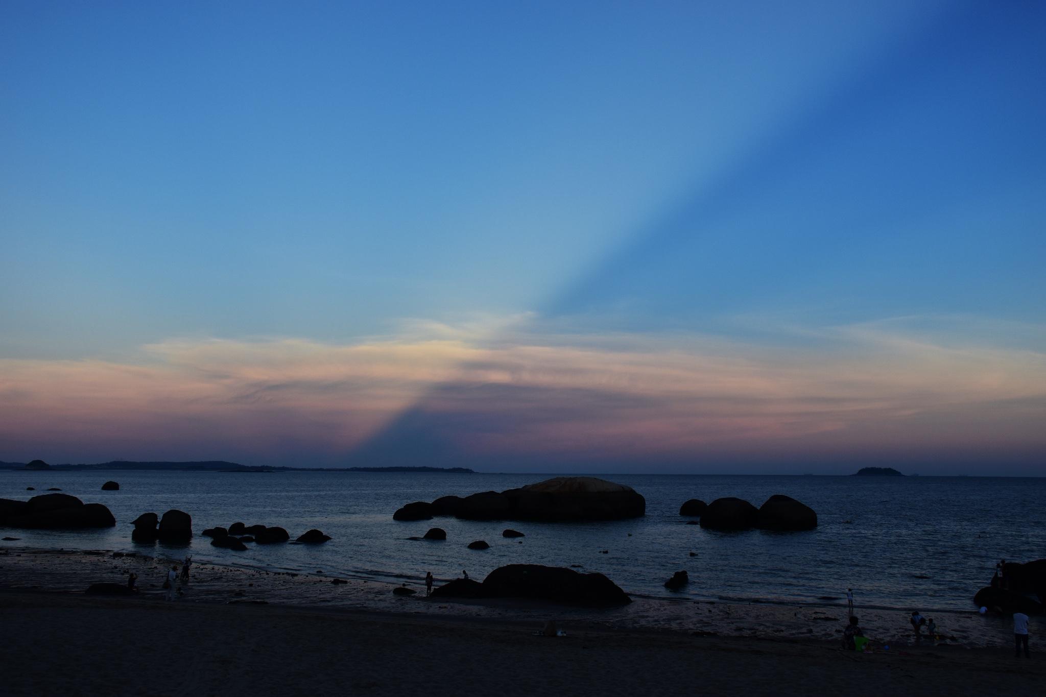 厦门黄厝海滩看海,原来大海真的能给人带来快乐!