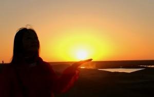 【巴丹吉林图片】大漠日落