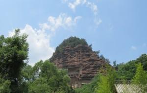【天水图片】感受西秦岭的魅力:麦积山石窟与仙人崖一日游,兼与麦研所斗智斗勇