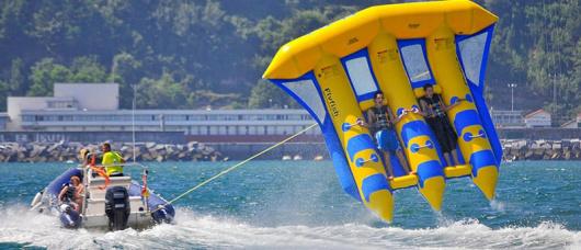 巴厘岛南湾水上运动项目(深潜/飞鱼/拖拽伞/香蕉船/摩托艇多项目可选