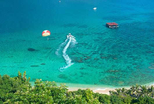 三亚分界洲岛 南湾猴岛一日游(定点接送 热带海岛风情