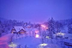 北海道,時間在雪花飄落間停止