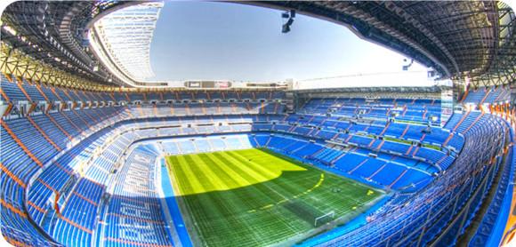 极速出票 西班牙 马德里 伯纳乌球场门票 皇马主场