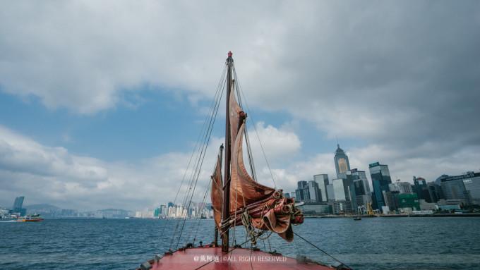 帆船图片 古风 手绘