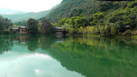 丽江观音峡九色玫瑰小镇一日游(玻璃栈道 滑道车 飞天