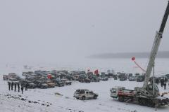 2018首届中俄界江冰雪汽车挑战赛完美收官