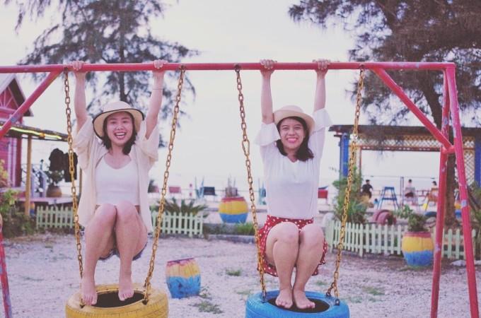 涠洲岛中年六一儿童节快乐呀
