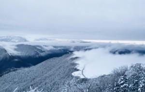 【宝兴图片】雪国,通天之路,与你