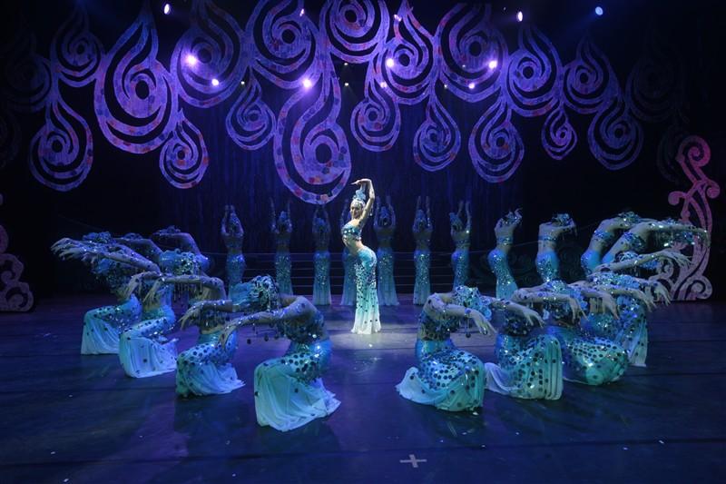 杭州千岛湖水之灵门票 大型舞台秀 千岛湖必玩项目 带