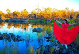 五大连池最美夕阳