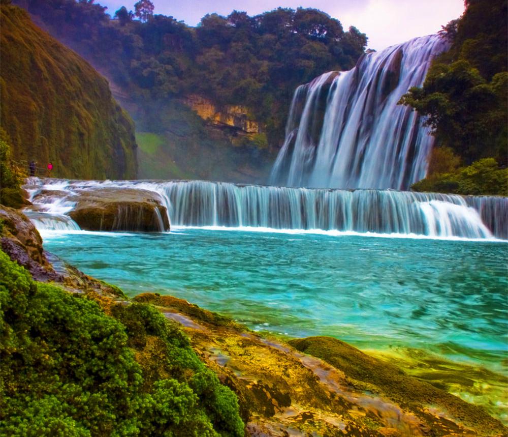 壁纸 风景 旅游 瀑布 山水 桌面 1000_859
