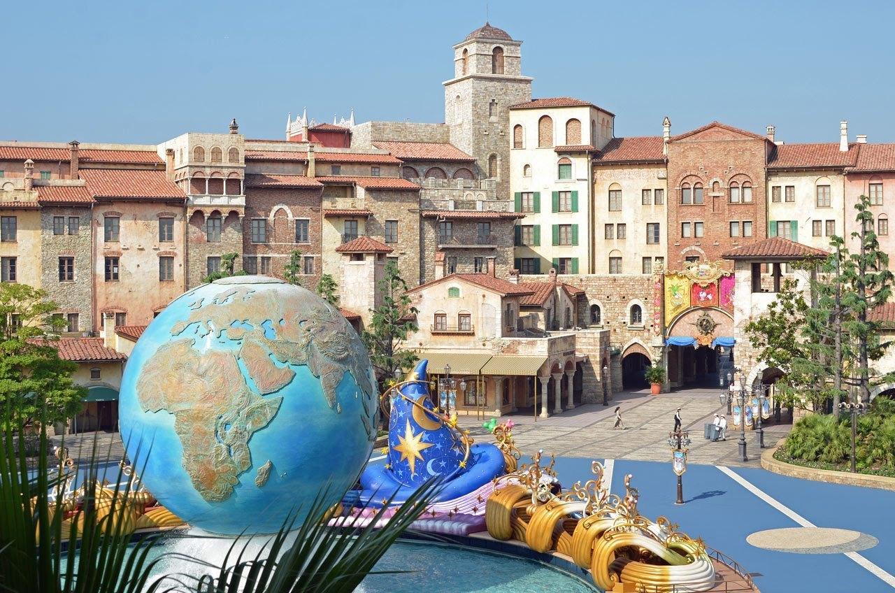 浪漫乐园 东京迪士尼乐园/海洋乐园二选一 一日票(实体邮寄票/下单