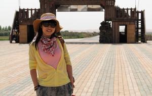 【沙坡头图片】大漠风光无限好——宁夏沙坡头