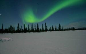 【北极图片】游北欧之北陆,看极地之极光 之三 北极光