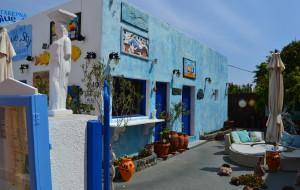 圣托里尼美食-Blue Sky 餐厅