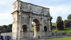 罗马景点-君士坦丁凯旋门(Arco di Costantino)