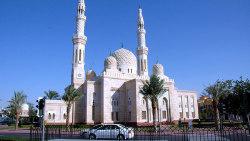 迪拜景点-朱美拉清真寺(Jumeirah Mosque)