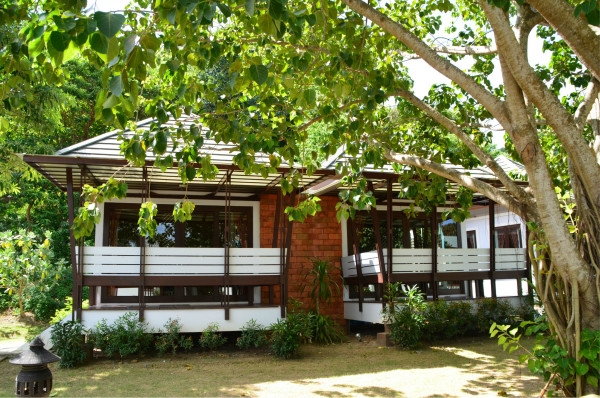 phiphi岛上的住宿是一栋栋小小别墅