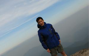 【宁海图片】2013年五一登顶宁海县茶山之巅,观东海云顶。
