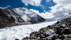 嘉峪关景点-七一冰川