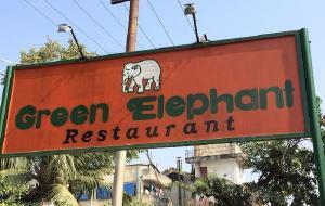 缅甸美食-Green Elephant