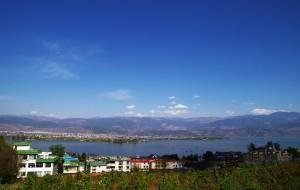 【邛海图片】西昌-邛海-阳光下的蓝天