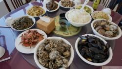大连美食-蓝海湾海鲜酒店