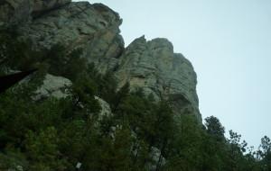 【黑山图片】疯马纪念山和总统雕像山