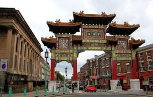 英国美食-中国城