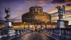 罗马景点-圣天使城堡(Castel Santangelo)