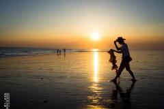 #花样游记大赛#金色碧湾,海天相接,晨曦初露。湄洲岛清明二日日落日出之行。