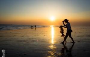 【湄洲岛图片】#花样游记大赛#金色碧湾,海天相接,晨曦初露。湄洲岛清明二日日落日出之行。