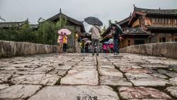束河景点-青龙桥