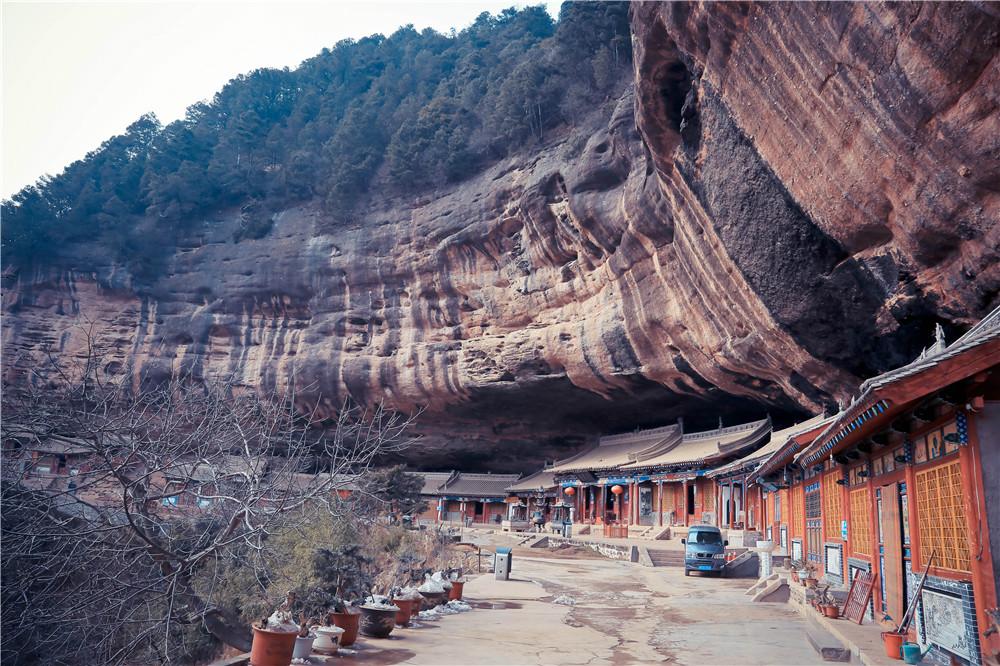 China GanSu Maijishan Grottoes