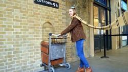 伦敦景点-9¾站台(Platform 9¾)