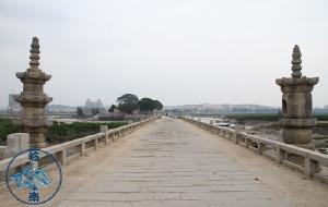 【泉州图片】洛阳桥-筏形基础尖桥墩