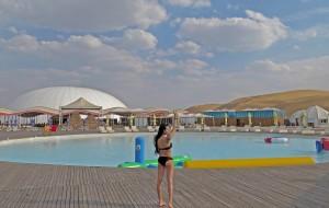 【库布齐沙漠图片】库布齐沙漠非自驾自由行双语版holiday@china desert with pool !