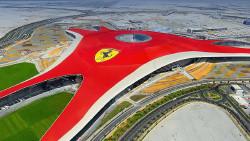阿布扎比景点-阿布扎比法拉利主题公园(Ferrari World Abu Dhabi)