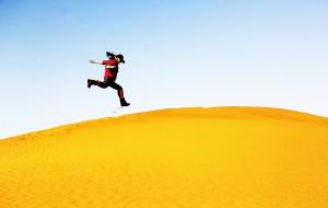 【阿拉善左旗图片】2015徒步穿越~腾格里沙漠