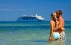 斐济提雾瓦心形岛Tivua出海一日游(美食畅享+玻璃底船+音乐表演+向导浮潜+皮划艇 可附加落日巡游)